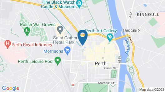 Mercure Perth Hotel Map