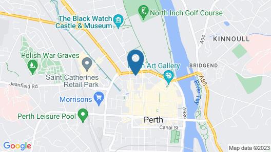 Captivating Studio Apartment in Perth Map