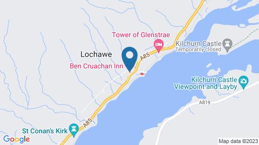 Ben Cruachan inn Map