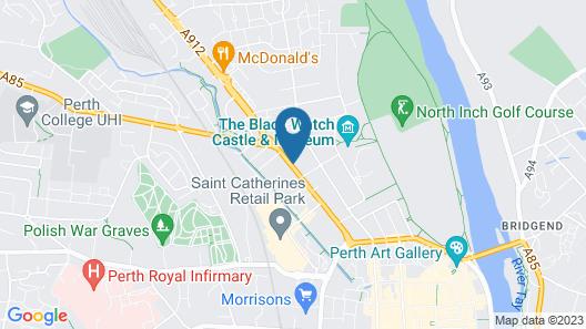 Rosebank Guest House Map