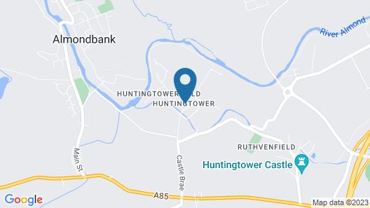 Leonardo Boutique Huntingtower Perth Map