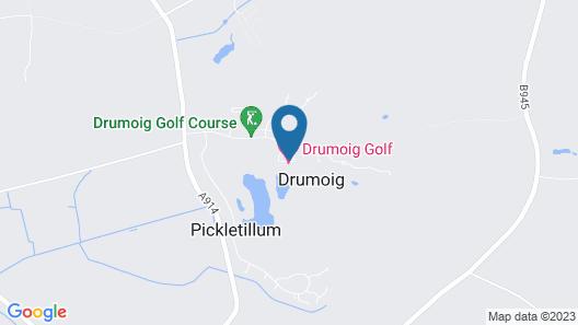 Drumoig Golf Hotel Map