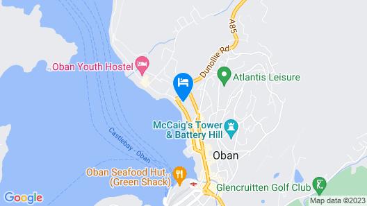 Corran House Guest House & Hostel Map