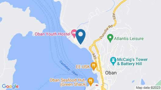 Muthu Hotel on Oban Bay Map