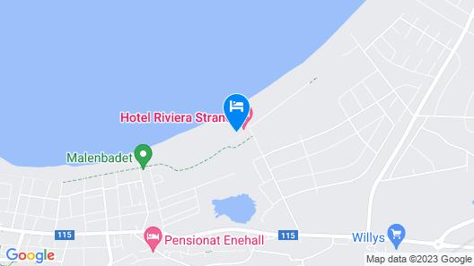 Hotel Riviera Strand Map