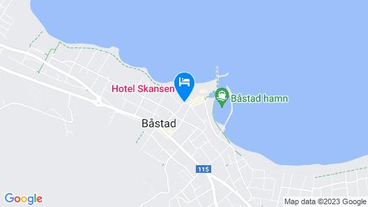 Hotel Skansen Båstad Map