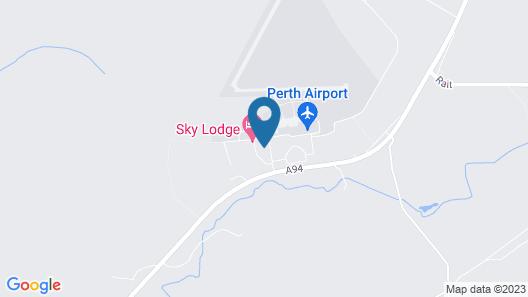 Sky Lodge Hotel Perth Map