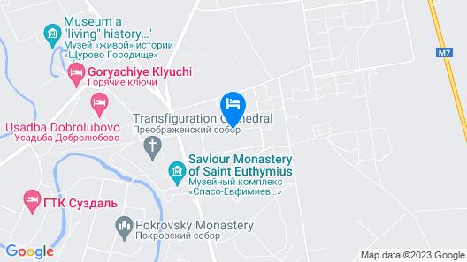 Medvezhiy Ugol Map