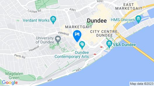 Urban Quarters Serviced Apartments Map