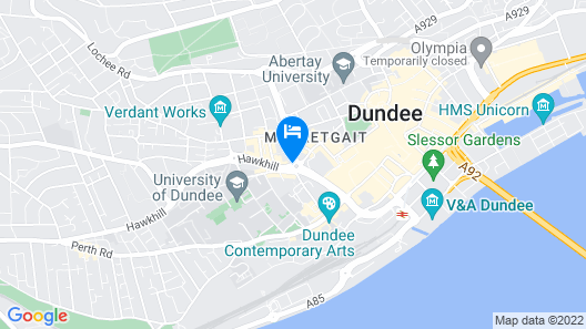 Westport Serviced Apartments Map