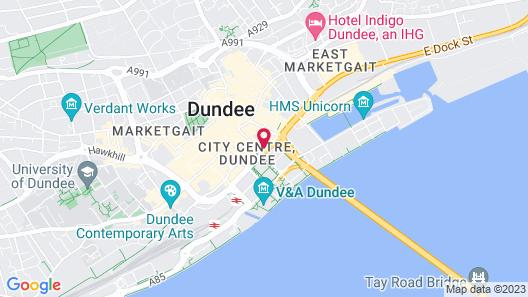 Holiday Inn Express Dundee Map