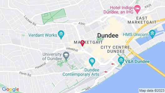 Hampton By Hilton Dundee City Center Map