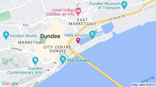 Apex City Quay Hotel & Spa Map