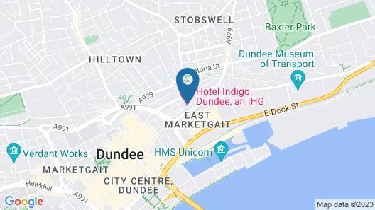 Hotel Indigo Dundee Map