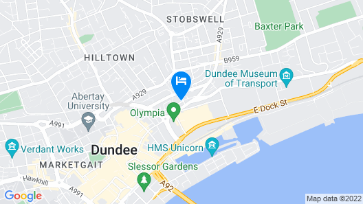 Staybridge Suites Dundee Map