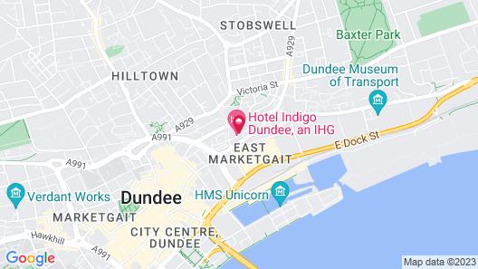 Staybridge Suites Dundee, an IHG Hotel Map
