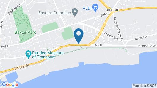 Dundee Carlton Map
