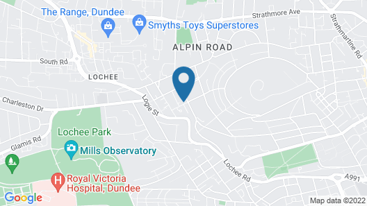 Central Serviced Apartments - Campbell Street Map