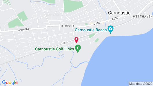 Carnoustie Golf Hotel Map