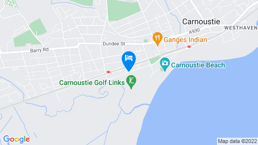 Carnoustie Golf Hotel Map