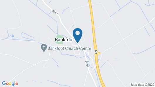 The Bankfoot Inn Map
