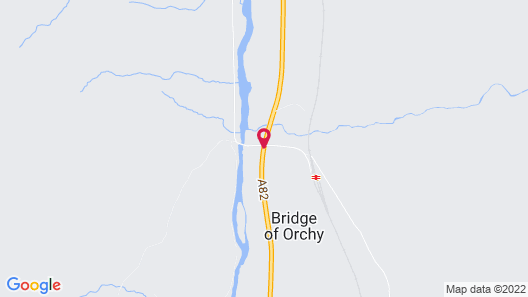 Bridge of Orchy Hotel Map