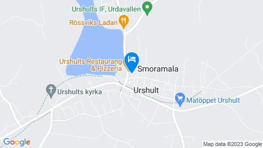 Urshult Hotell Map