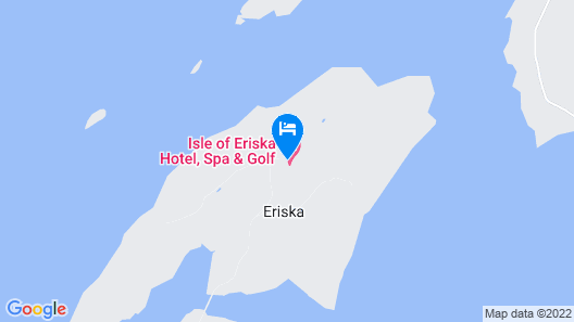 Isle of Eriska Hotel and Spa Map
