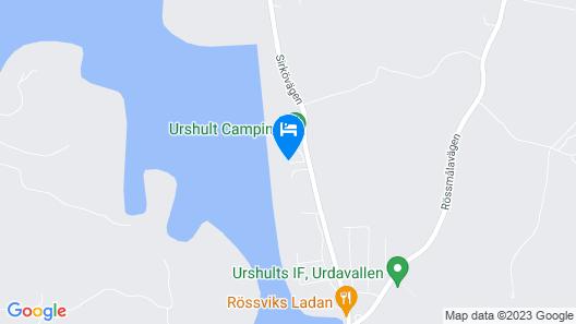Urshult Camping Map