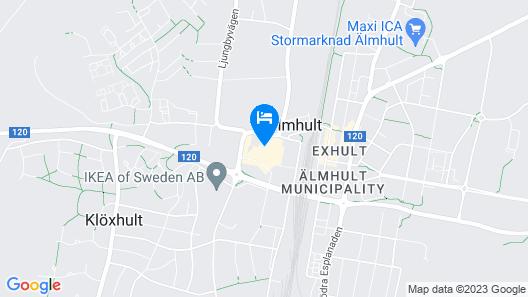 IKEA Hotell Map