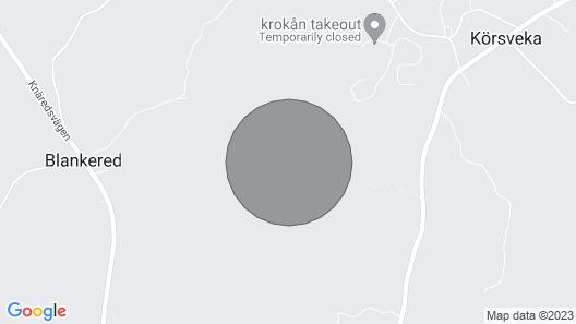 Landvilla at Bathing Lake in Idyllic Nature Map