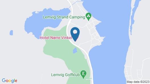 Hotel Nørre Vinkel Map