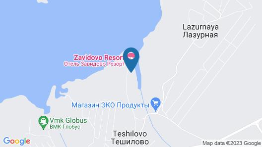 Zavidovo resort Map