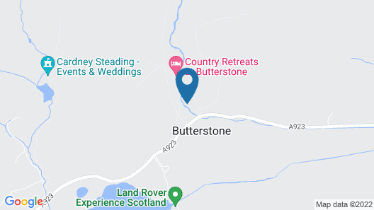 Country Retreats at Butterstone Map