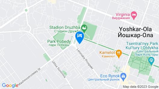 Nikitin Hotel Map