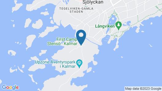 First Camp Stensö Kalmar Map