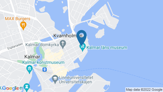 1 Bedroom Accommodation in Kalmar Map