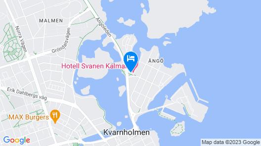 Hotell Svanen Map