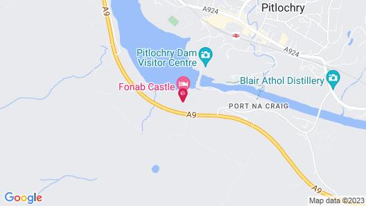 Fonab Castle Hotel & Spa Map