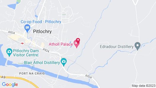 Atholl Palace Hotel Map