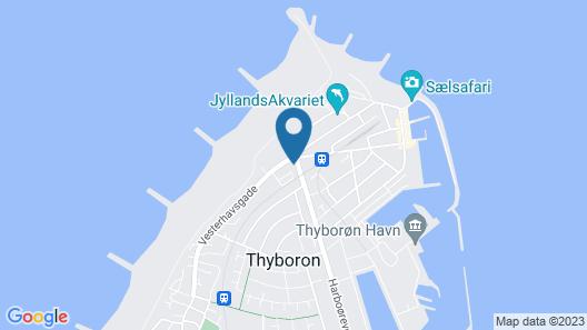 Thyborøn Hotel Map