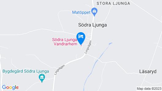STF Vandrarhem Södra Ljunga Map