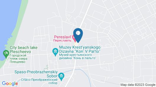Hotel Pereslavl Map