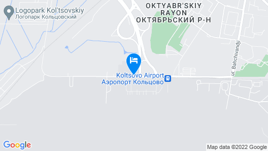 Angelo by Vienna House Ekaterinburg Map