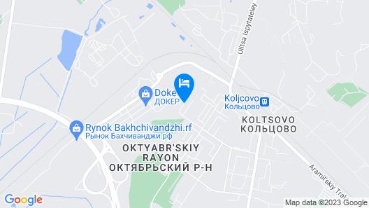 U Aeroporta Mini-Hotel  Map