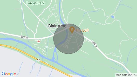 Blair Atholl, River Tilt Park, Modern 2 Bedroom Static Caravan Map