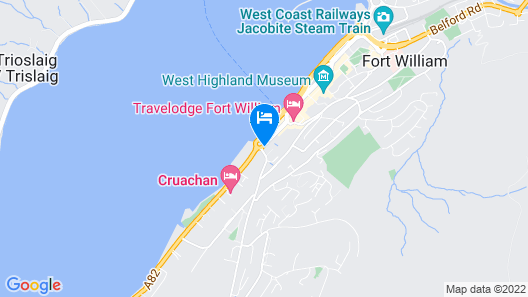 Muthu Fort William Hotel Map