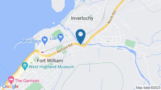 Nevis Bank Inn Map