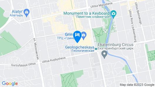 London Mini-Hotel - Hostel Map
