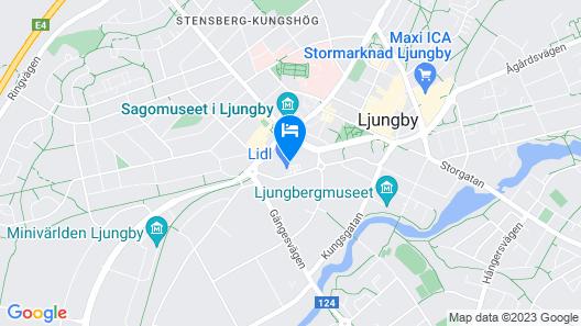 Hotell Garvaren Map